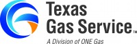 Texas Gas Service a division of ONE Gas Logo